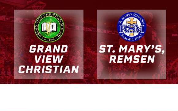 2018 Basketball Class 1A Semifinal (Grand View Christian vs. St. Mary's, Remsen) - Digital Download