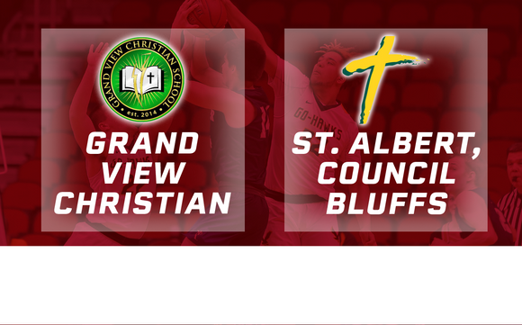 2019 Basketball Class 1A Quarterfinal (Grand View Christian vs. St. Albert, Council Bluffs) Digital Download
