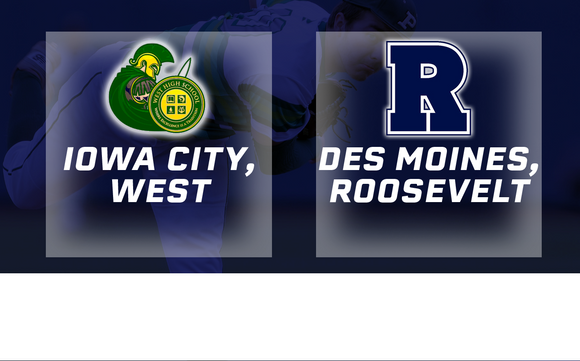 2016 Baseball Class 4A Semifinal (Iowa City, West vs. Des Moines, Roosevelt) - Digital Download