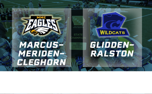 2015 Football 8-Player Semifinal (Marcus-Meriden-Cleghorn vs. Glidden-Ralston) - Digital Download