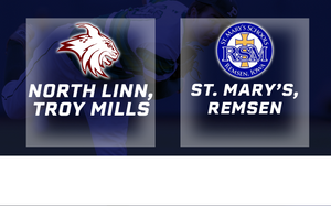 2017 Baseball 1A Quarterfinal (North Linn, Troy Mills vs. St. Mary's, Remsen) - Digital Download