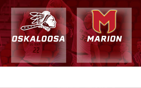 2019 Basketball Class 3A Quarterfinal (Oskaloosa vs. Marion) Digital Download