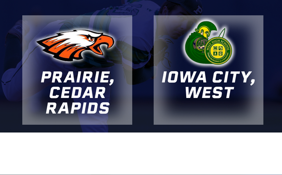 2016 Baseball Class 4A Final (Prairie, Cedar Rapids vs. Iowa City, West) - Digital Download