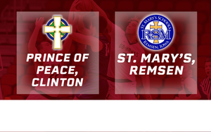 2019 Basketball Class 1A Quarterfinal (Prince of Peace, Clinton vs. St.Mary's Remsen) Digital Download