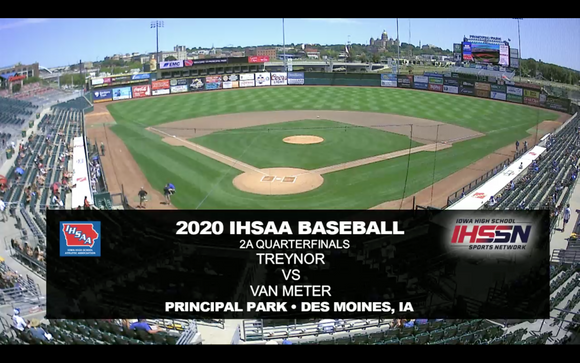 2020 Baseball Class 2A Quarterfinal (Van Meter vs. Treynor) Digital Download
