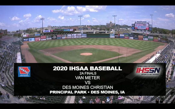 2020 Baseball Class 2A Championship (Van Meter vs. Des Moines Christian) Digital Download