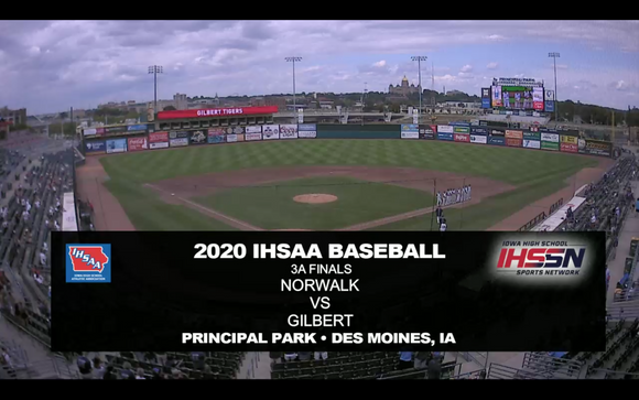2020 Baseball Class 3A Championship (Norwalk vs. Gilbert) Digital Download