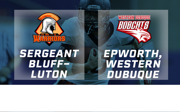 2018 Football Class 3A Semifinal (Sergeant Bluff-Luton vs. Epworth, Western Dubuque) Digital Download