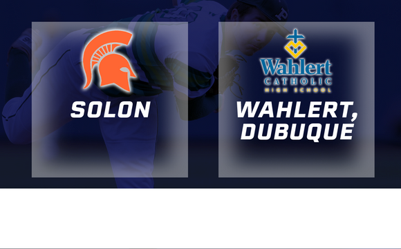 2016 Baseball Class 3A Quarterfinals (Solon vs Wahlert, Dubuque) - Digital Download