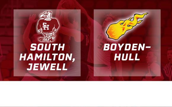 2019 Basketball Class 2A Semifinal (South Hamilton, Jewell vs. Boyden-Hull) Digital Download