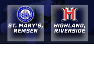 2016 Baseball Class 1A Quarterfinal (St. Mary's, Remsen vs Highland, Riverside) - Digital Download