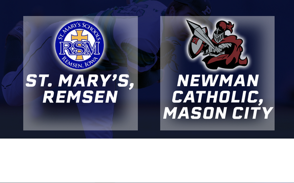 2016 Baseball Class 1A Semifinal (St. Mary's, Remsen vs. Newman Catholic, Mason CIty) - Digital Download