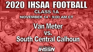 2020 Class 1A State Football Semifinal (Van Meter vs. South Central Calhoun) - Flash Drive