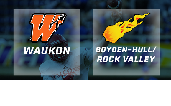 2017 Football Class 2A Semifinal (Waukon vs. Boyden-Hull / Rock Valley) - Digital Download