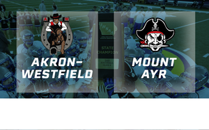 2015 Football Class A Semifinal (Akron-Westfield vs. Mount Ayr) - Digital Download