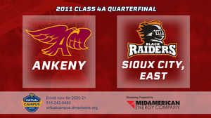 2011 Basketball Class 4A Quarterfinal (Ankeny vs. Sioux City, East) Digital Download