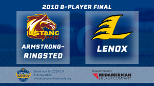 2010 Football 8-Player Championship (Lenox vs. Armstrong-Ringsted) Digital Download