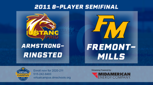 2011 Football 8-Player Semifinal (Armstrong-Ringsted vs. Fremont-Mills, Tabor) Digital Download