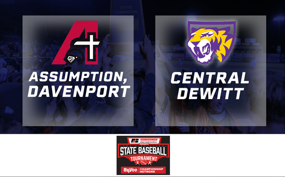 2019 Baseball Class 3A Semifinal (Assumption vs. Central DeWitt) - Digital Download
