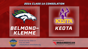 2014 Basketball Class 1A Consolation (Belmond-Klemme vs. Keota) Digital Download