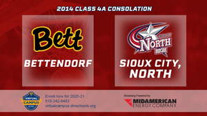 2014 Basketball Class 4A Consolation (Bettendorf vs. Sioux City, North) Digital Download