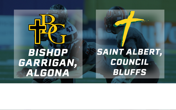 2016 Football Class A Semifinal (Bishop Garrigan, Algona vs. St. Albert, Council Bluffs) - Digital Download