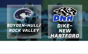 2016 Football Class 2A Semifinal (Boyden-Hull/Rock Valley vs. Dike-New Hartford) - Digital Download