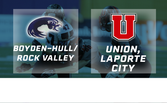 2016 Football Class 2A Final (Boyden-Hull/Rock Valley vs. Union, LaPorte City) - Digital Download