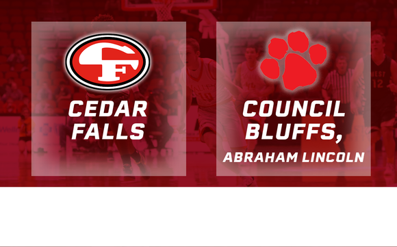 2016 Basketball Class 4A Quarterfinal (Cedar Falls vs. Council Bluffs, Abraham Lincoln) Digital Download