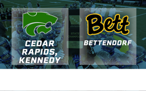 2015 Football Class 4A Semifinal (Cedar Rapids, Kennedy vs. Bettendorf) - Digital Download