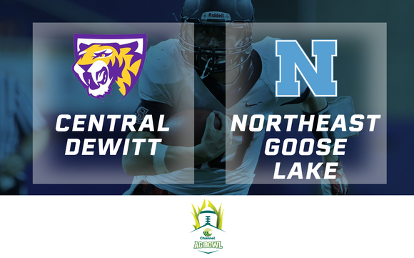 2016 Football Channel Seed Ag Bowl (Central DeWitt vs. Northeast Goose Lake) - Digital Download