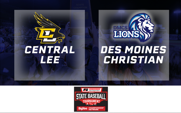 2019 Baseball Class 2A Quarterfinals (Central Lee, Donnellson vs. Des Moines Christian) - Digital Download
