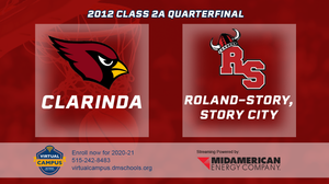 2012 Basketball Class 2A Quarterfinal (Clarinda vs. Roland-Story, Story City) Digital Download