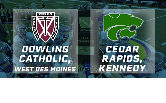 2015 Football Class 4A Final (Dowling Catholic, West Des Moines vs. Cedar Rapids, Kennedy) - Digital Download