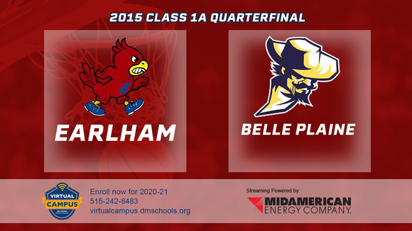 2015 Basketball Class 1A Quarterfinal (Earlham vs. Belle Plaine) Digital Download