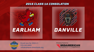 2015 Basketball Class 1A Consolation (Earlham vs. Danville) Digital Download