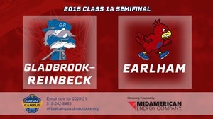 2015 Basketball Class 1A Semifinal (Gladbrook-Reinbeck vs. Earlham) Digital Download