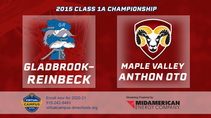 2015 Basketball Class 1A Championship (Gladbrook-Reinbeck vs. Maple Valley-Anthon-Oto) Digital Download