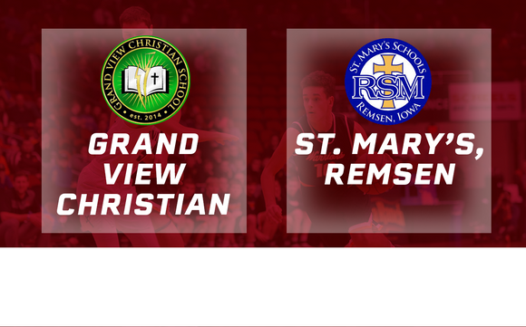 2017 Basketball Class 1A Semifinal (Grand View Christian vs. St. Mary's, Remsen) - Digital Download
