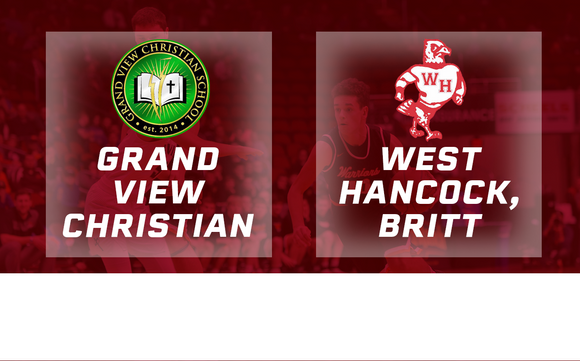 2017 Basketball Class 1A Quarterfinal (Grand View Christian vs. West Hancock, Britt) - Digital Download