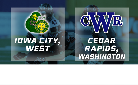 2016 Football Class 4A Semifinal (Iowa City, West vs. Cedar Rapids, Washington) - Digital Download
