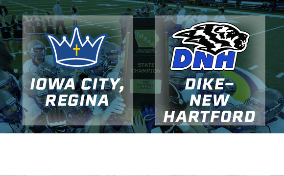 2015 Football Class 1A Semifinal (Regina, Iowa City vs. Dike-New Hartford) - Digital Download