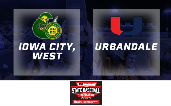 2019 Baseball Class 4A Semifinal (Iowa City, West vs. Urbandale) - Digital Download