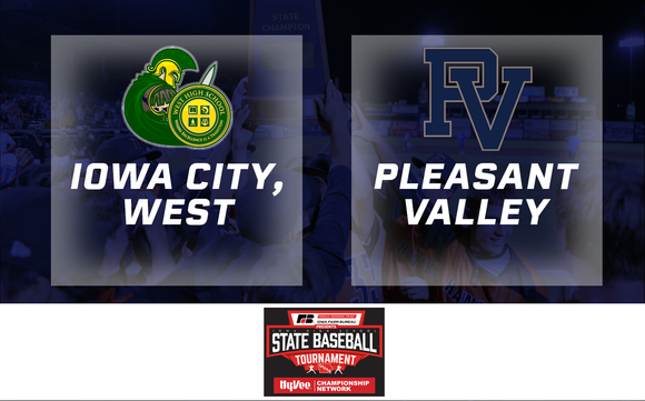 2019 Baseball Class 4A Quarterfinal (Iowa City, West vs. Pleasant Valley) - Digital Download
