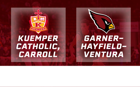 2017 Basketball Class 2A Quarterfinal (Kuemper Catholic, Carroll vs. Garner-Hayfield-Ventura) - Digital Download