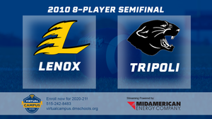 2010 Football 8-Player Semifinal (Tripoli vs. Lenox) Digital Download