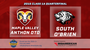 2015 Basketball Class 1A Quarterfinal (Maple Valley-Anthon-Oto vs. South O'Brien, Paullina) Digital Download