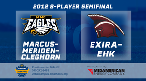 2012 Football 8-Player Semifinal (Marcus-Meriden-Cleghorn vs. Exira-EHK) Digital Download
