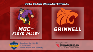 2013 Basketball Class 3A Quarterfinal (MOC-Floyd Valley vs. Grinnell) Digital Download
