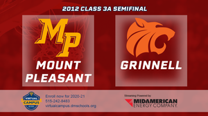 2012 Basketball Class 3A Semifinal (Mount Pleasant vs. Grinnell) Digital Download
